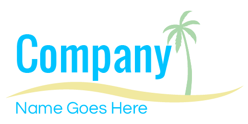 At the beach logo